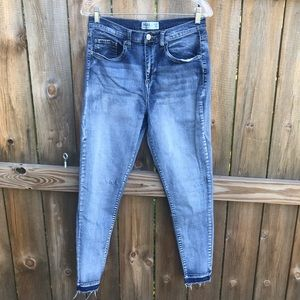High Waisted Stretch Jegging